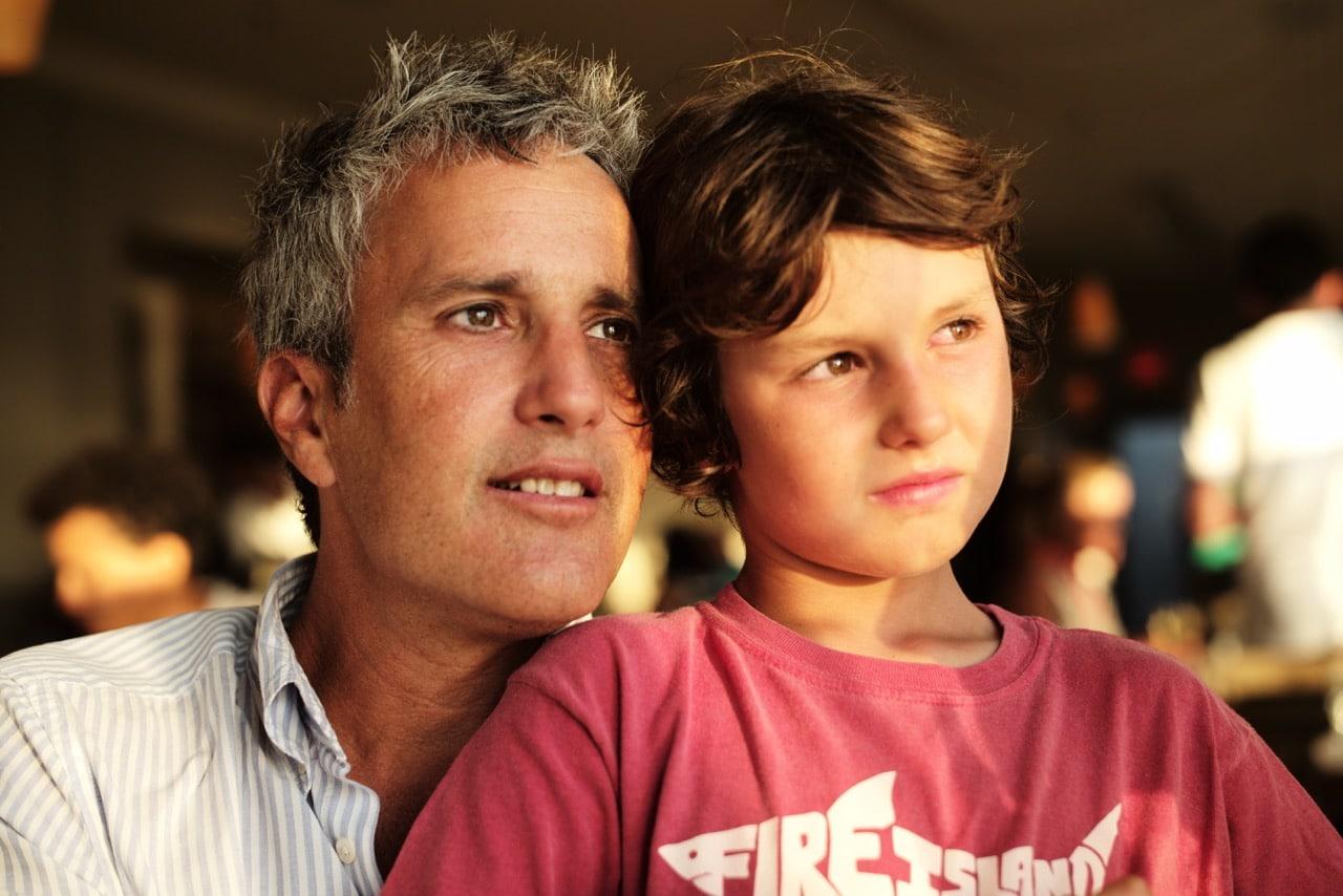Matt Smukler w/ son Oliver